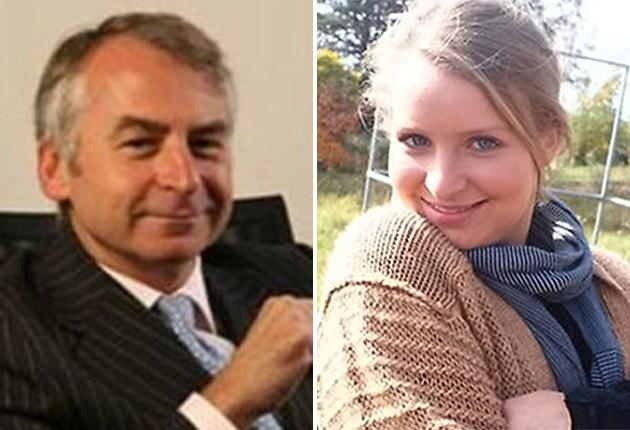 Suspect Paul Peters and victim Madeleine Pulver