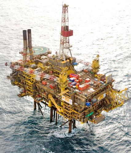 The Gannett Alpha platform has leaked 218 tonnes of oil in the North Sea