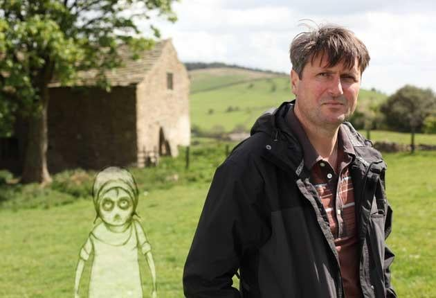 Simon Armitage told the story of Jennet Device