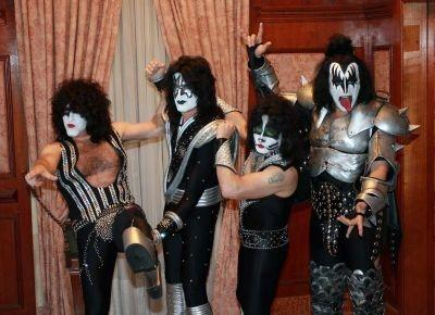 Rock band Kiss will be opening a coffeehouse in Las Vegas, part of plans to expand their franchise.