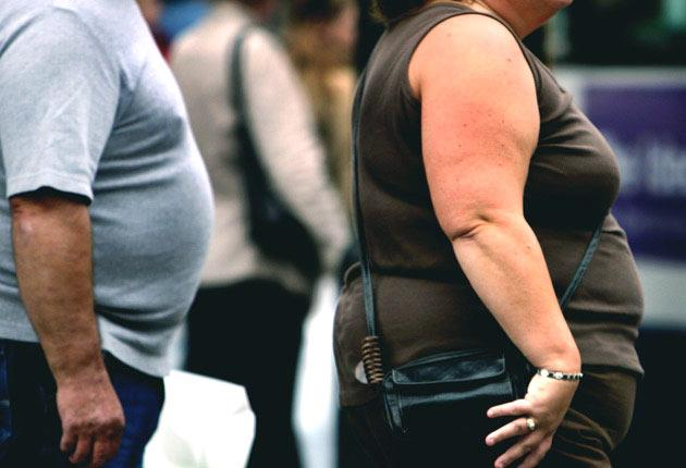 The number of obese adults in the UK is now forecast to rise 73 per cent over the next two decades