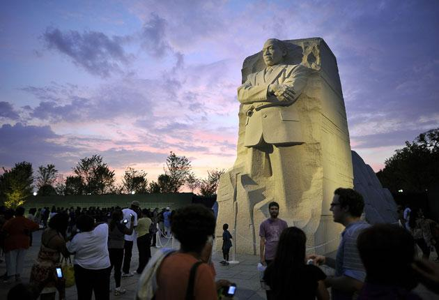 The new Martin Luther King memorial will be dedicated by President Barack Obama