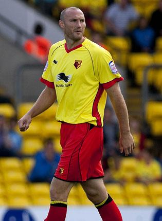 Martin Taylor was Watford's saviour against Birmingham yesterday GETTY