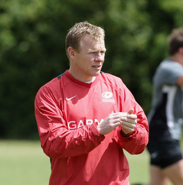 Saracens won the title under Mark McCall's guidance