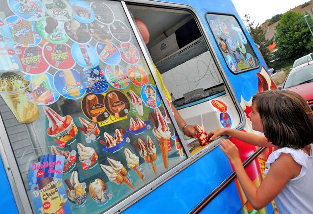 The distinctive chimes of the ice cream van are disappearing from our streets