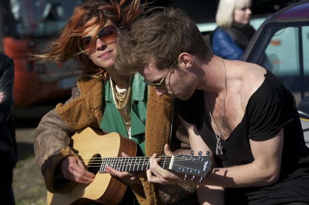 Highly strung: Natalia Tena and Luke Treadaway star in 'You Instead'