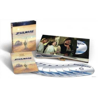 'Star Wars: The Complete Saga' on Blu-ray