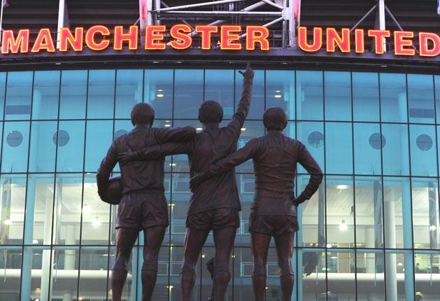 Manchester United posted record operating profits in the past financial year