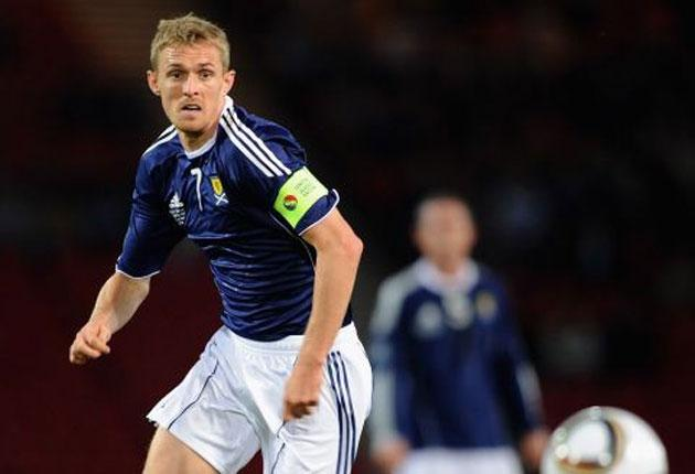 Scotland captain Darren Fletcher has given Craig Levein a timely lift with his return to full fitness