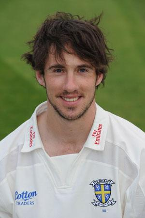 Will Smith: The batsman scored his third century of the season as Durham declared 520 runs in front to put them in a good position against Sussex