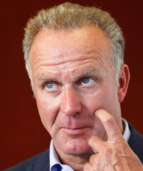 Clubs' association chief Rummenigge is at odds with Fifa