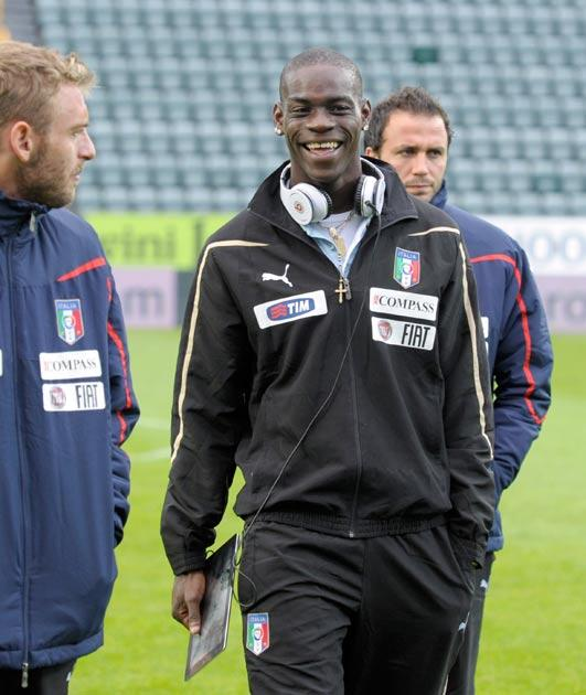 Balotelli has often fond himself in trouble in his short career
