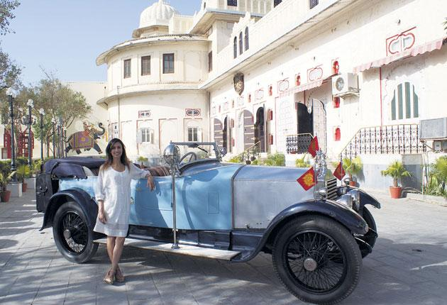 The drive of her life: Anita Rani in the BBC2 programme India on Four Wheels