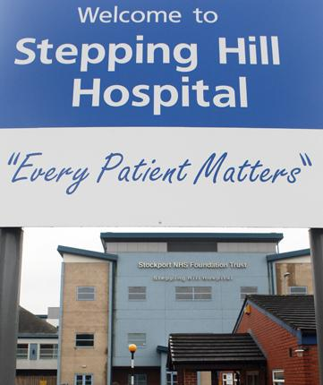 Stepping Hill Hospital in Stockport