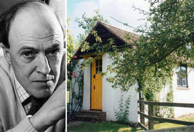 Roald Dahl and the 'sacred place' where he wrote