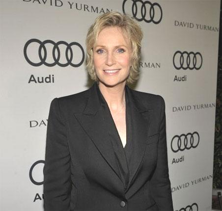 The character Sue  Sylvester, played by Jane Lynch, is running for Congress