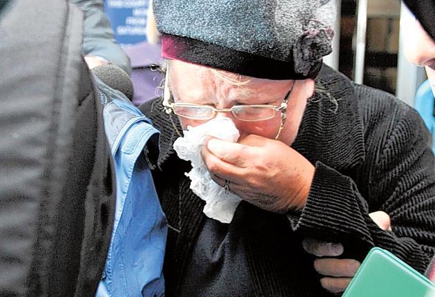 Former MP Margaret Moran leaves court yesterday