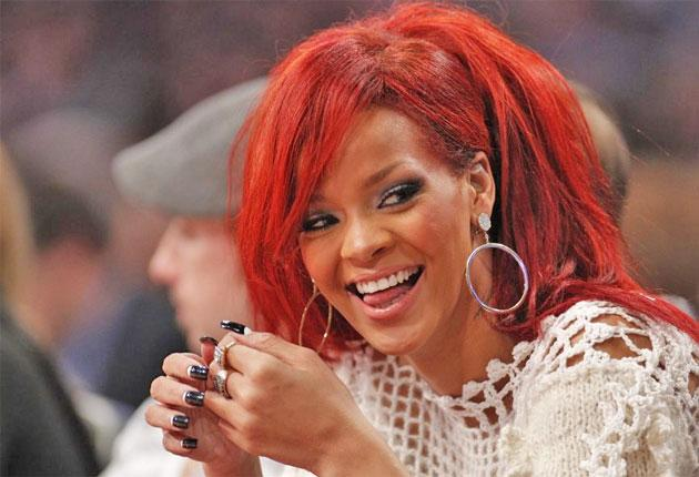 Rihanna's first album, Music of the Sun, was released in 2005, when she was 17