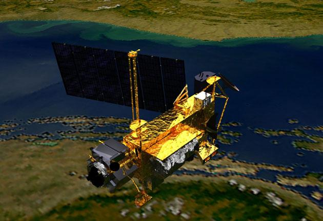 Nasa's climate research satellite
