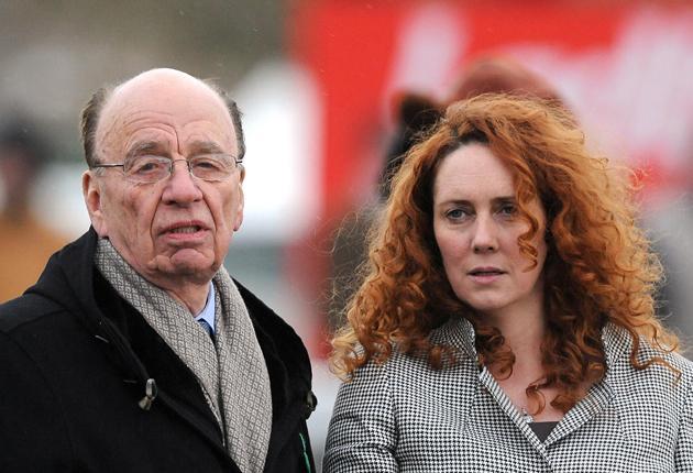Hacked off: Rupert Murdoch and Rebekah Brooks