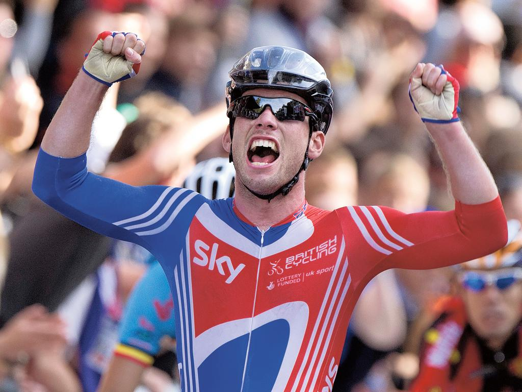 Cavendish claims Britain's second ever gold medal in the world road race