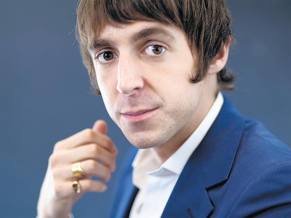 Suits you, sir: Miles Kane