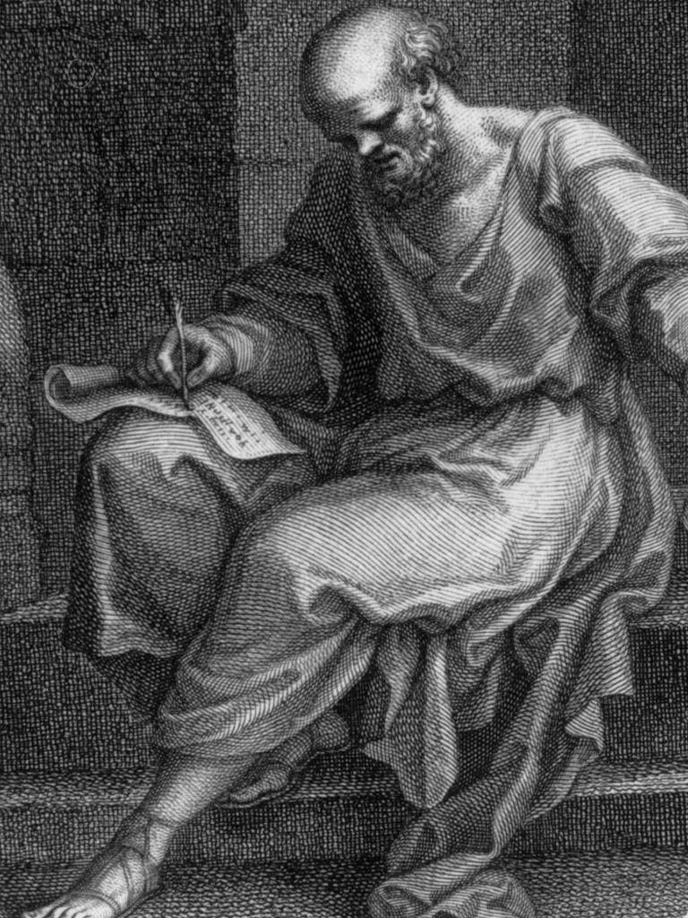 Socrates: Described by his student Plato as a garrulous genius