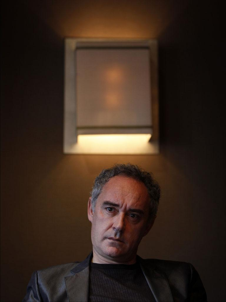 Ferran Adrià says chefs need to think about cooking away from the kitchen