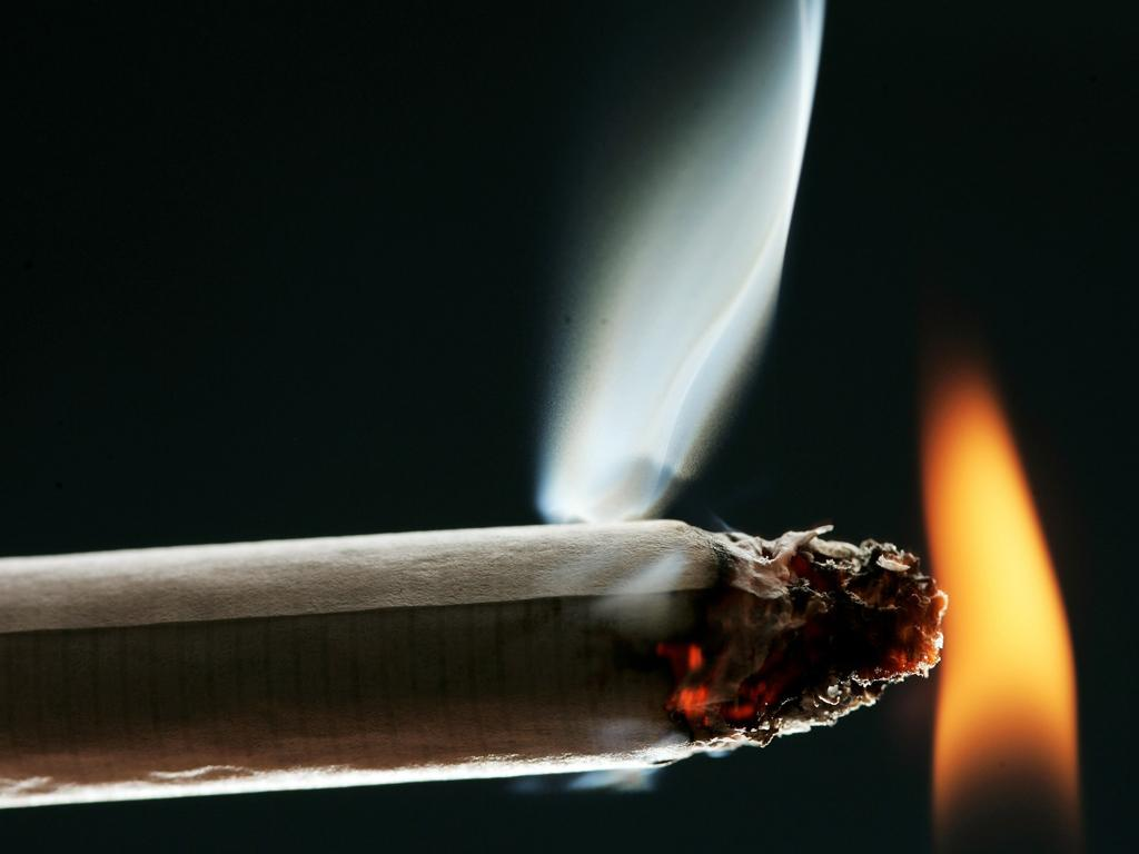 Burnt out: 1.7 billion illegal cigarettes are seized in the UK by HM Revenue & Customs (HMRC) each year