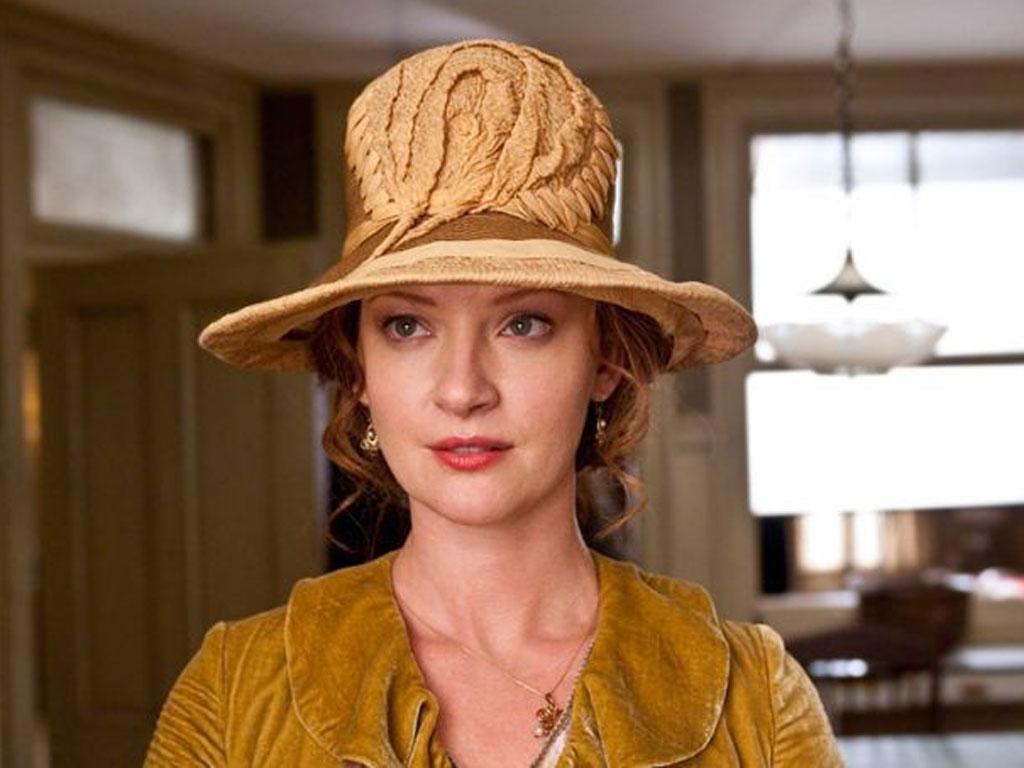 Shore-fire hit: Gretchen Mol stars as femme fatale Gillian in 'Boardwalk Empire'