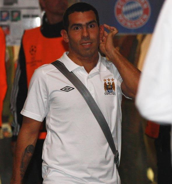Tevez said in the aftermath of the match: 'I did not feel right to play, so I did not'