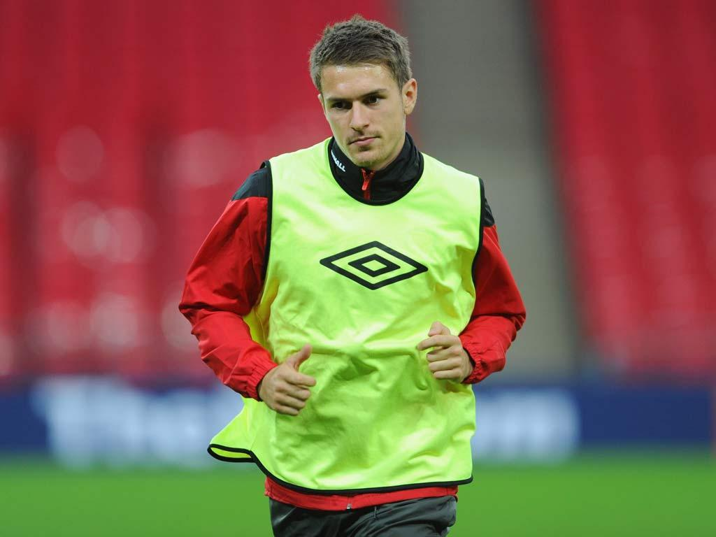 Ramsey will form a midfield partnership with Joe Allen