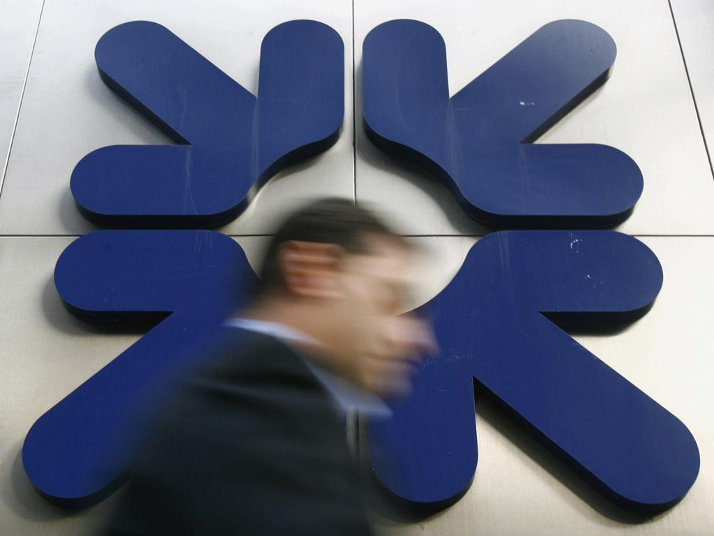 RBS, which saw its shares drop more than 3 per cent, also came under pressure after a report in the Financial Times suggested it could require a further bailout from the Government
