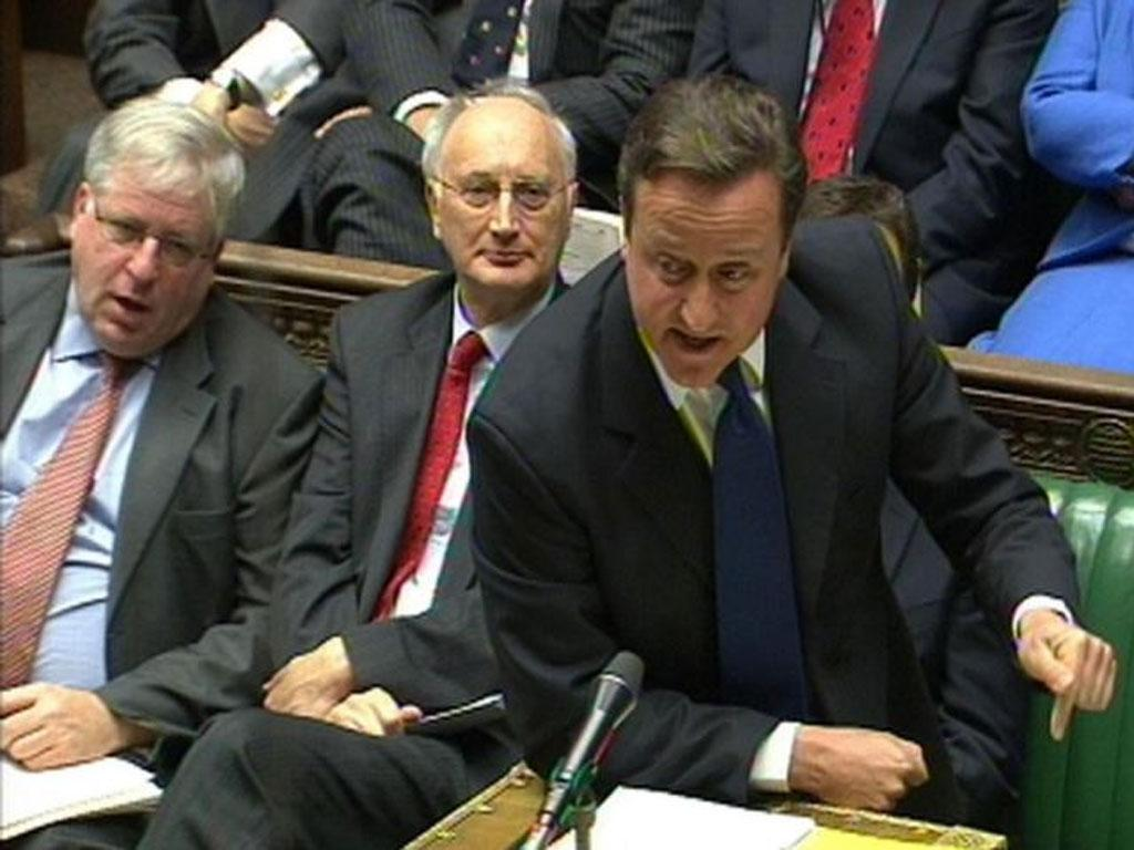 David Cameron faces a rebellion over Monday's EU vote in the Commons