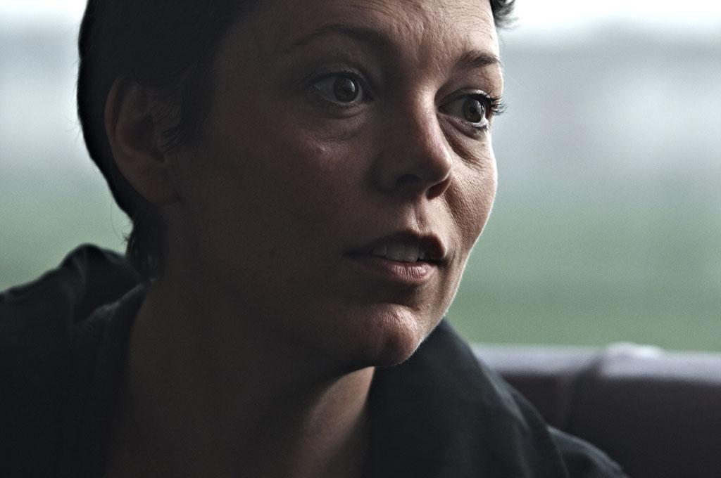 Ready for her close-up: Olivia Colman's impressively restrained performance in the film 'Tyrannosaur'