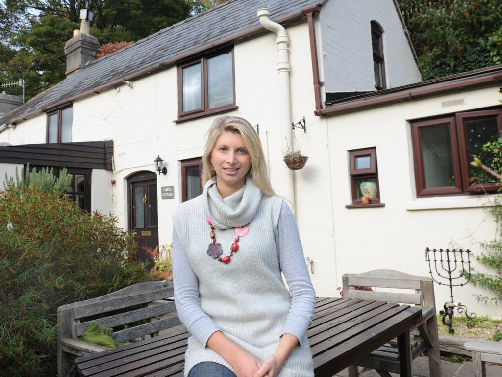 Last winter, Chantal, from Stroud, Gloucestershire, decided to add more environmentally friendly insulation to her cottage roof in an attempt to keep her energy bills down