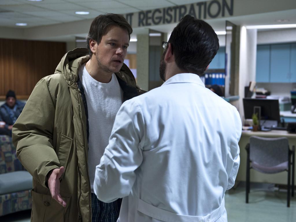 Matt Damon as a concerned dad in Steven Soderbergh's Contagion