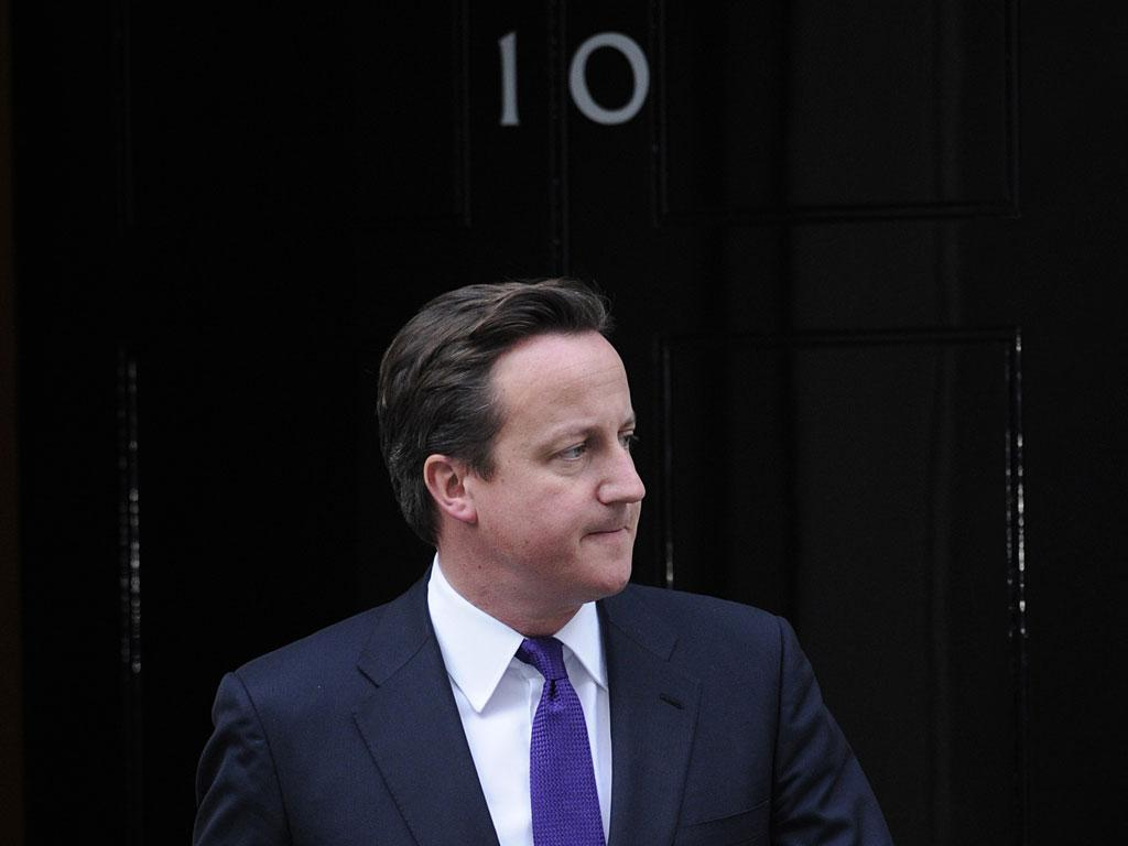 It is expected that Mr Cameron will use the chance to bolster his authority over the right wing of his party