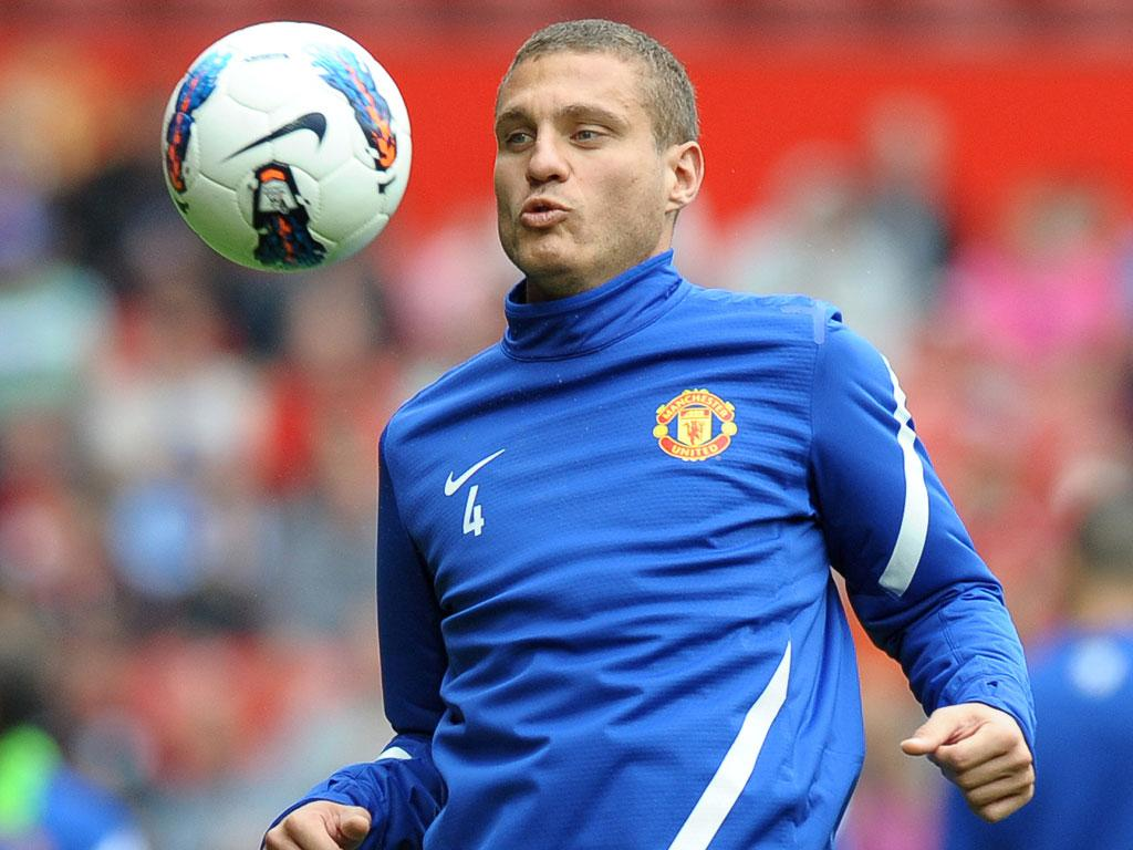 Nemanja Vidic is banking on starting today after a red card against Otelul