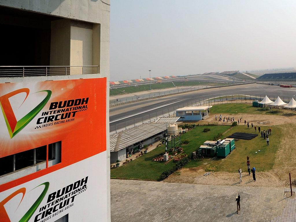 The Buddh International Circuit which hosts the inaugural Indian Grand Prix next weekend
