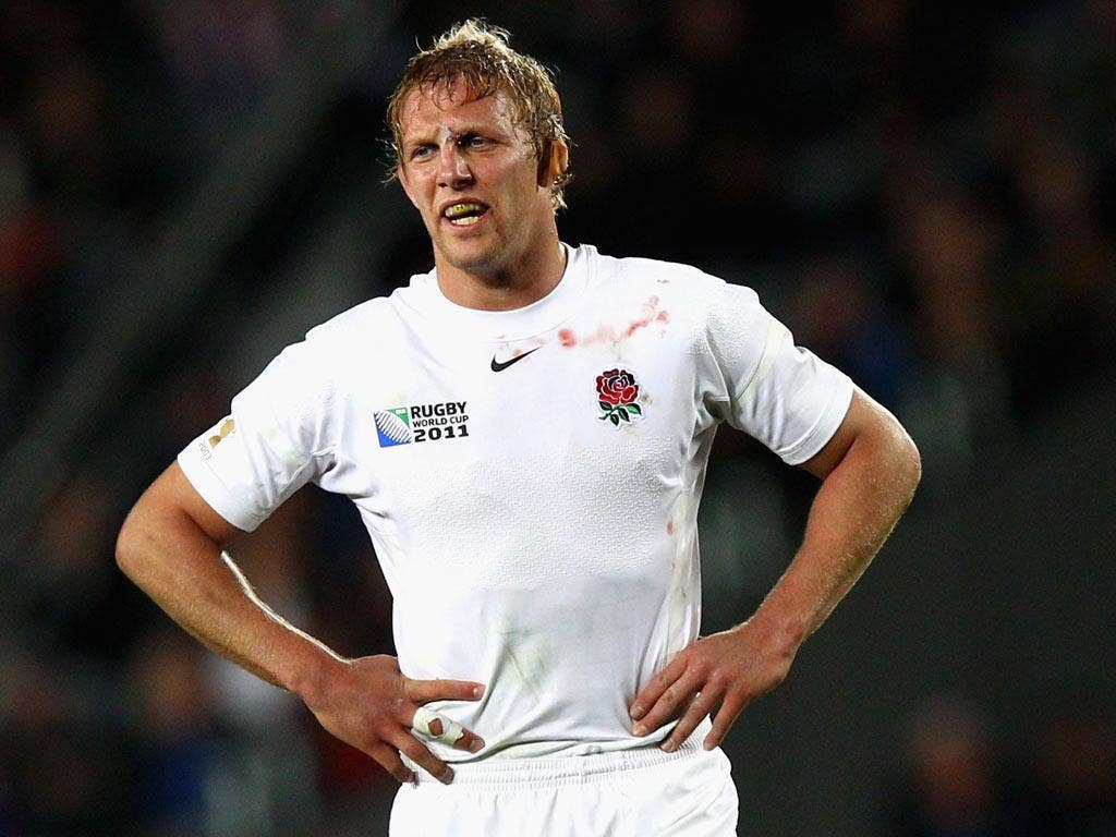 At 33, Lewis Moody would have had little chance of making it to the next World Cup