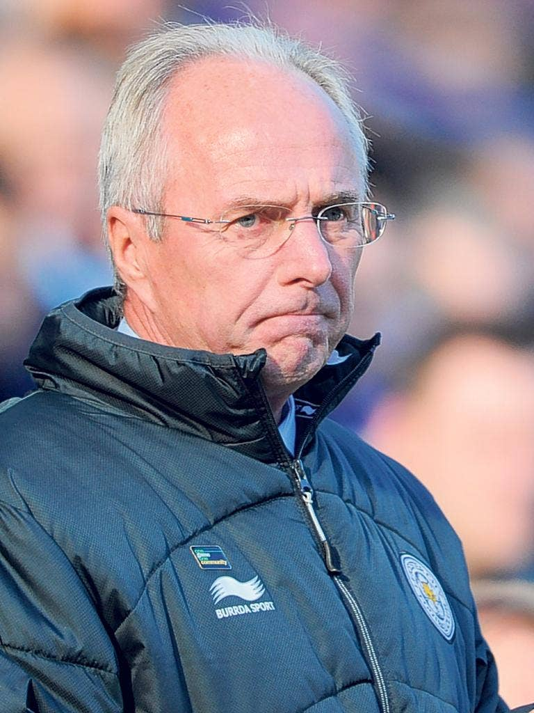 The former England manager took over at Leicester last season when they were in the relegation zone, and took them to 10th place