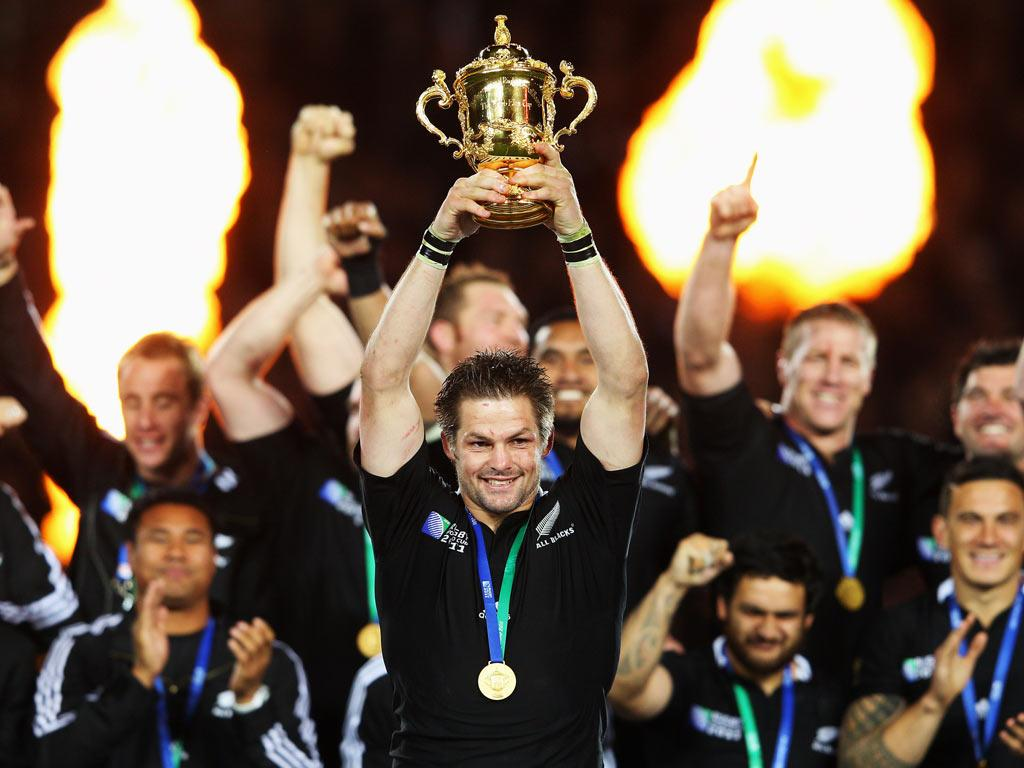 <b>23 OCTOBER</b><br/> <b>New Zealand 8-7 France</b><br/> The hosts and the favourites for the tournament keep to the script, just, by edging out France at Eden Park. With many predicting a landslide victory for the All Blacks before the game, the reality