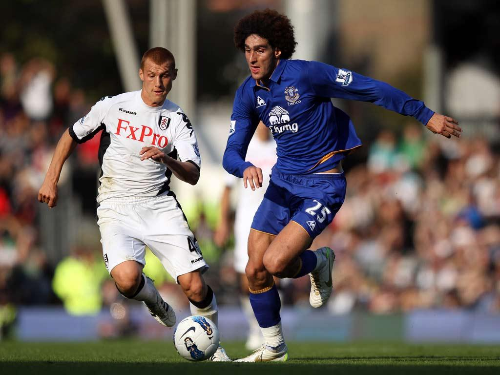 Moyes is hopeful talks with Fellaini are reaching a conclusion