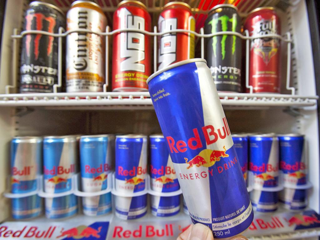 Popular pick-me-up Red Bull delivers a dose of caffeine equivalent to a cup of coffee