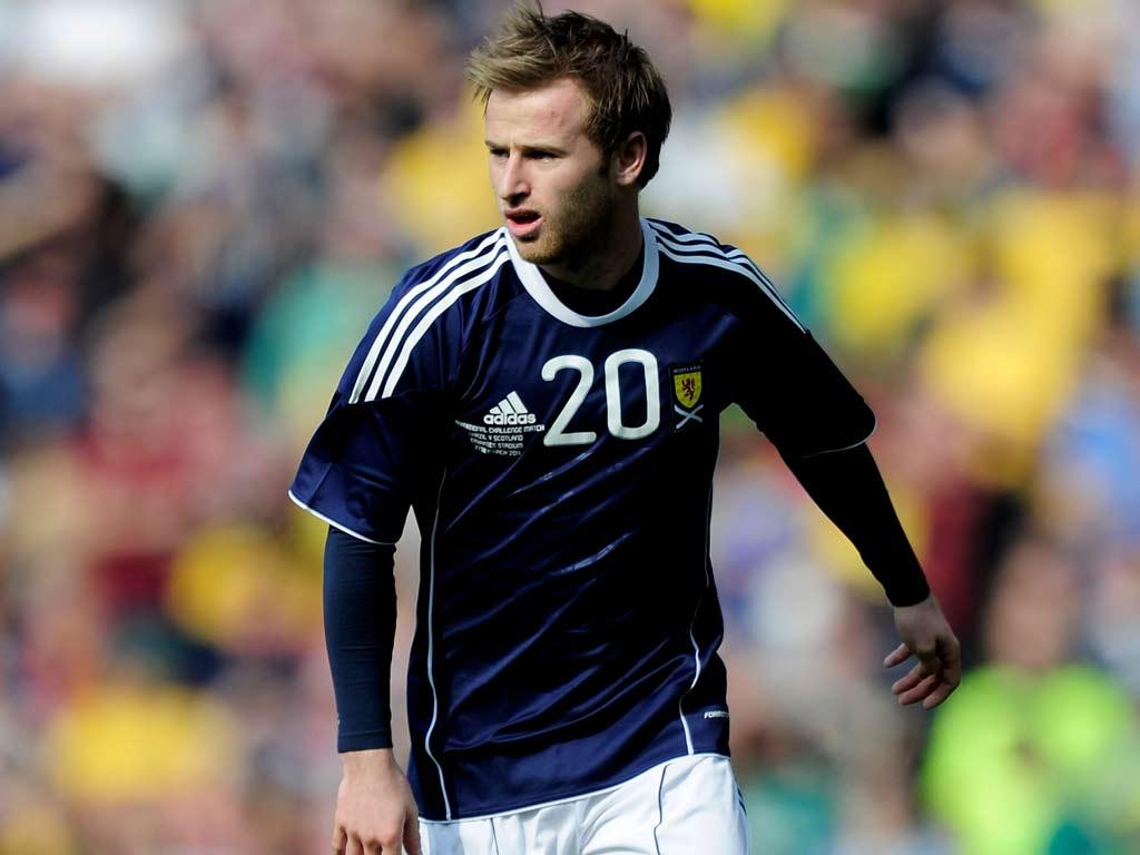 Aston Villa and Scotland international Barry Bannan