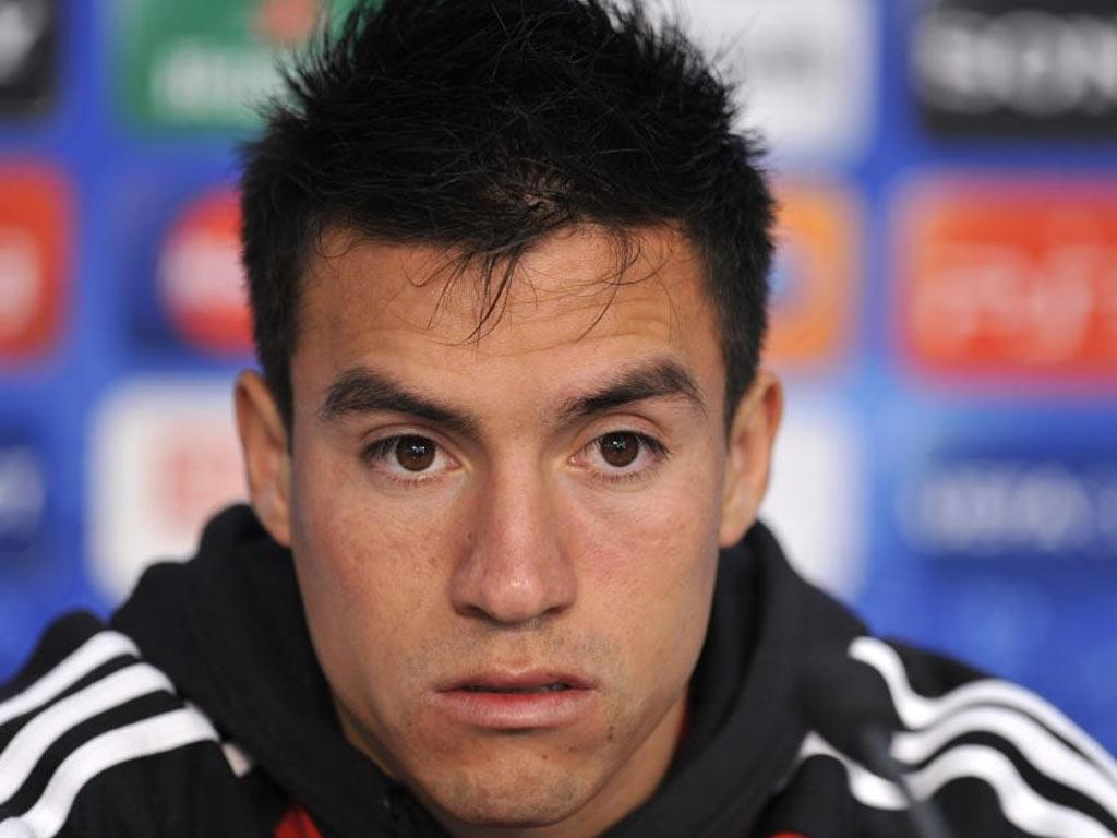 Playmaker Nicholas Gaitan impressed when he played for Benfica against Manchester United