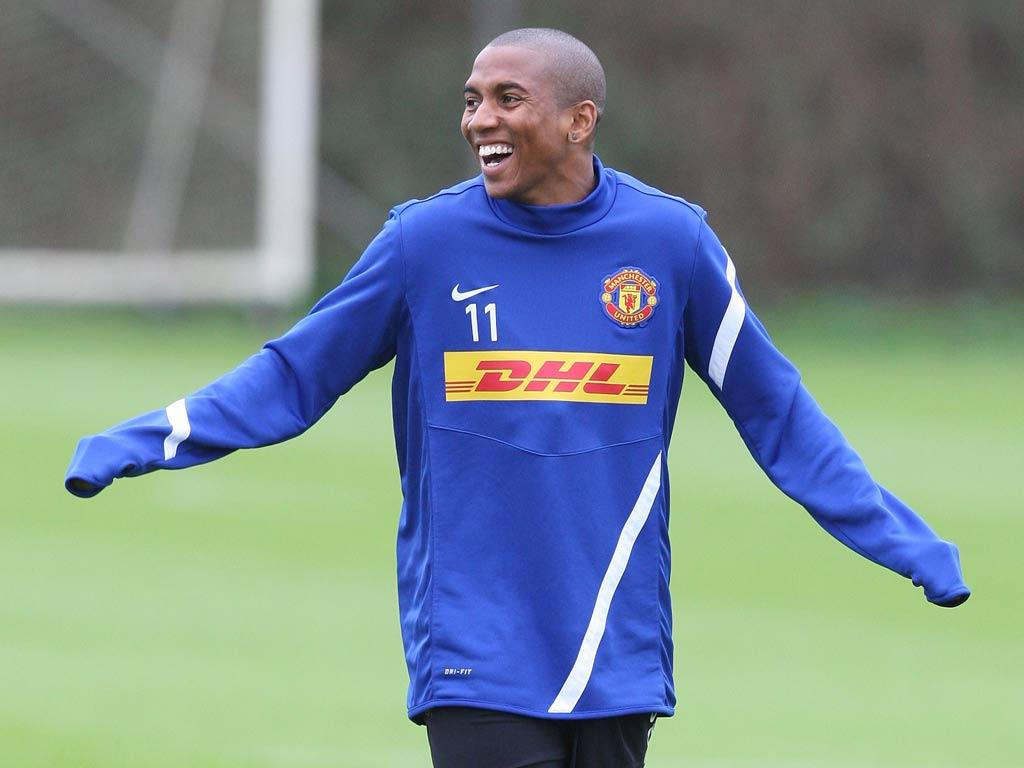 Ashley Young has picked up a toe injury
