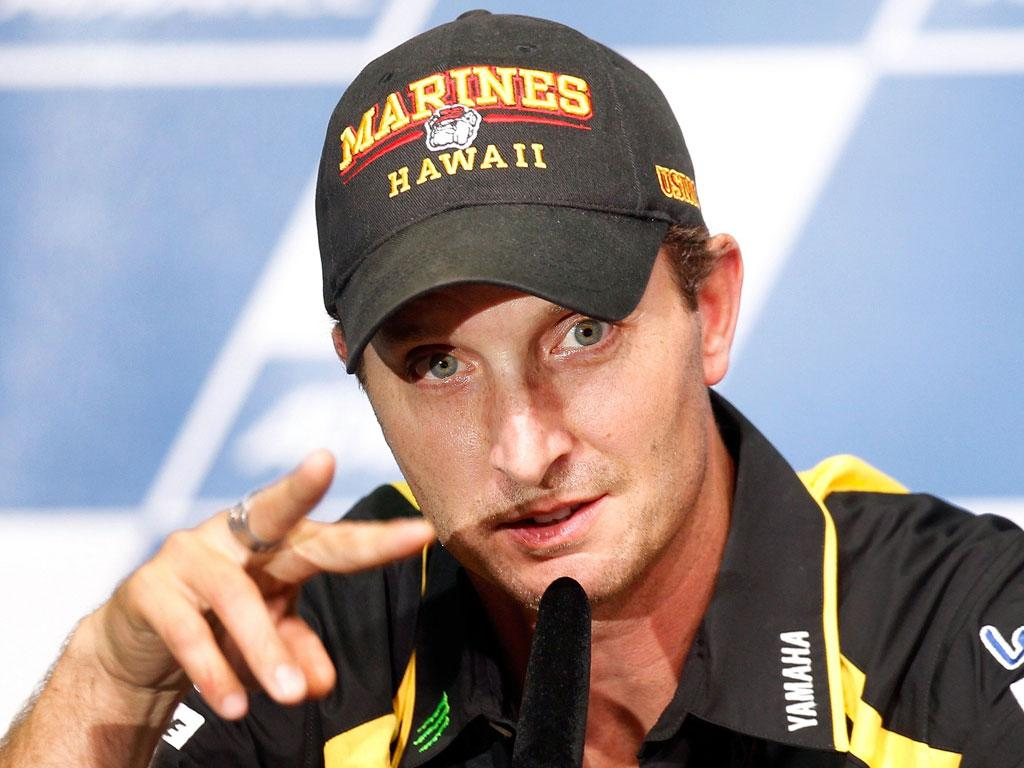 Colin Edwards will miss the final MotoGP race of the season in Valencia while he waits for surgery on his arm