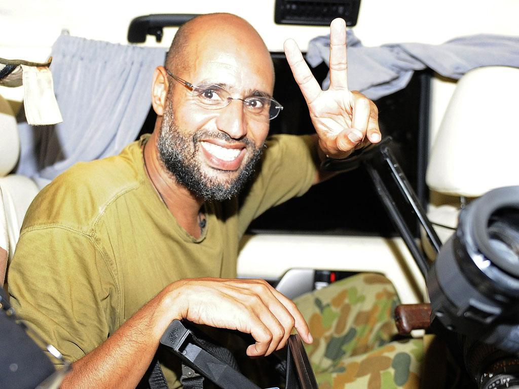 There is no certainty about the wherabouts of Saif al-Islam